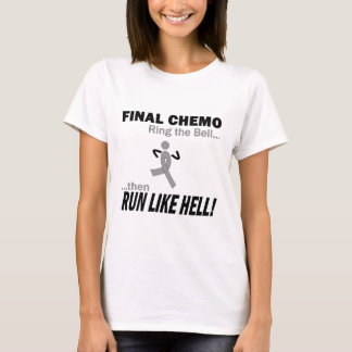 T-shirt Le chimio final courent beaucoup - cancer du