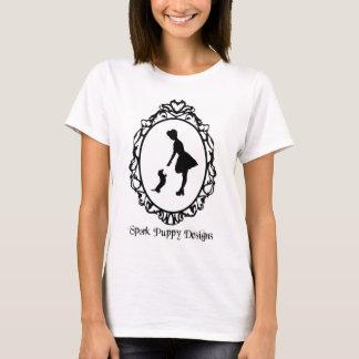 T-shirt Le chiot de Spork conçoit le logo