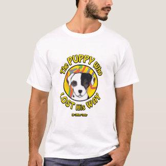 T-shirt Le chiot qui s'est égaré - histoire