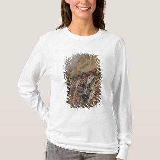 T-shirt Le choeur des derviches priant l'aumône à
