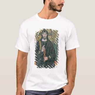 T-shirt Le Christ a couronné avec les anges