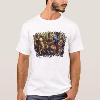 T-shirt Le Christ conduisant les négociants par le temple