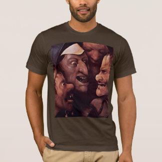 T-shirt Le Christ portant la croix.  Par Hieronymu Bosch