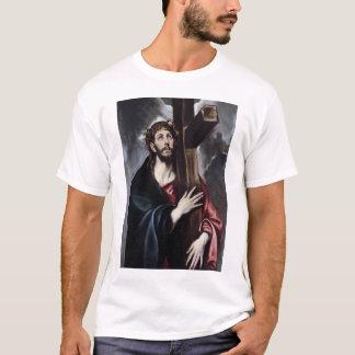 T-shirt Le Christ soutenant la croix