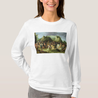 T-shirt Le Christ sur la route vers le calvaire