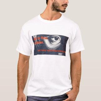 T-shirt Le citoyen obéissent