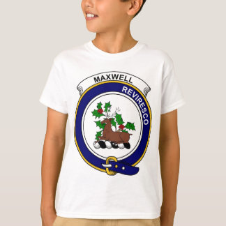 T-shirt Le clan de Maxwell Badge