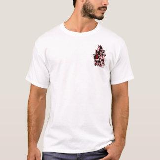 T-shirt Le coeur un Ne de raison de La de que de raisons