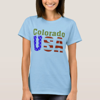 T-shirt Le Colorado Etats-Unis !