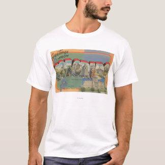 T-shirt Le Colorado (scène de capitale de l'État)
