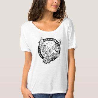 T-shirt Le combattant T de la femme Relaxed de lycée de