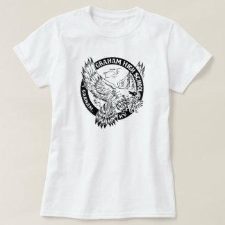T-shirt Le combattant T des femmes de lycée de Graham