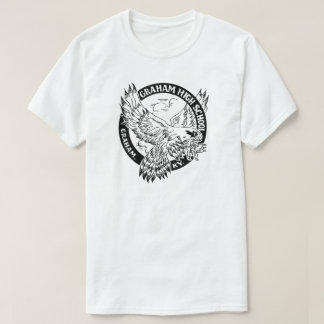 T-shirt Le combattant T des hommes de lycée de Graham