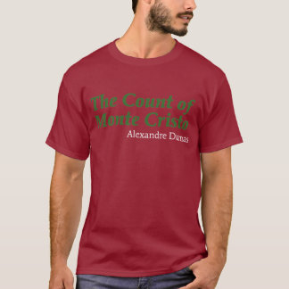 T-shirt Le compte de Monte Cristo