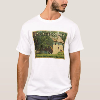 T-shirt Le comté de Lancaster Pennsylvanie