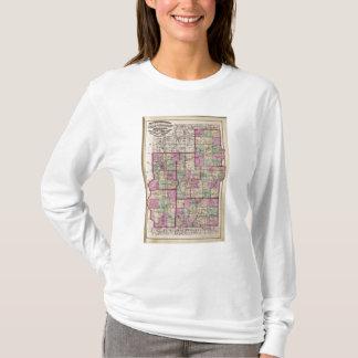 T-shirt Le comté de Putnam et le comté de Vigo
