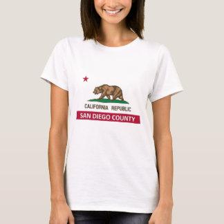 T-shirt Le comté de San Diego la Californie