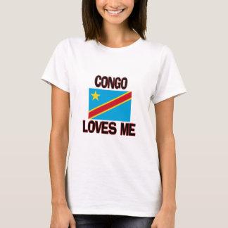 T-shirt Le Congo m'aime