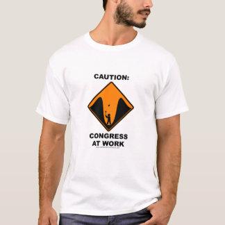T-shirt Le congrès au travail