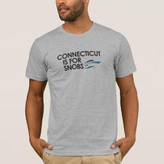 T-shirt Le Connecticut est pour des snobs