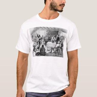 T-shirt Le Conseil de Taureau de séance, 1877