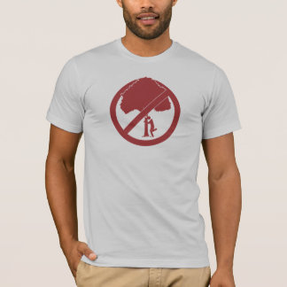 T-shirt Le convenir-environnementalisme d'Ayn Rand et d'I