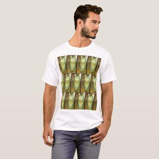 T-shirt Le cool a couvert de tuiles le chat