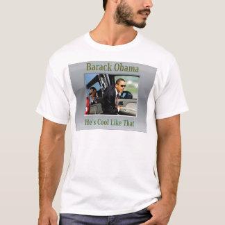 T-shirt Le cool d'Obama aiment cela