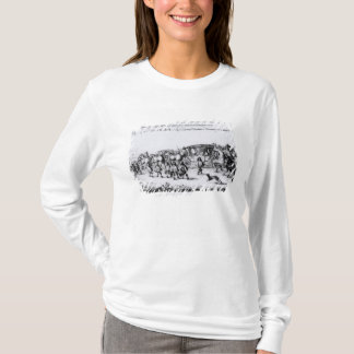 T-shirt Le cortège de Charles II