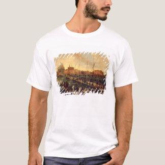 T-shirt Le cortège de Redentore (huile sur la toile)