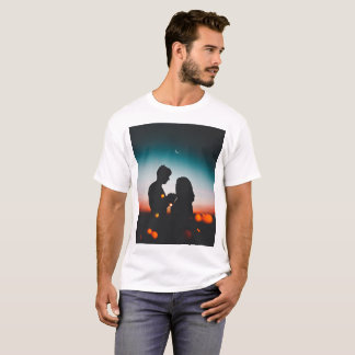 T-shirt Le coucher du soleil #2
