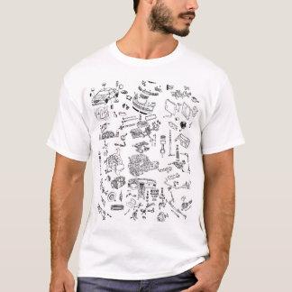 T-shirt Le courant perturbateur de Chrysler a éclaté le