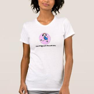 T-shirt Le coureur enceinte