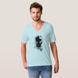 T-shirt le crâne avec éclabousse