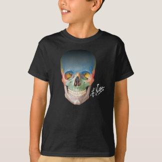 T-shirt Le crâne de sourire du Netter sur T Enfant-classé
