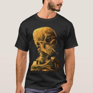 T-shirt le crâne de Van Gogh fume