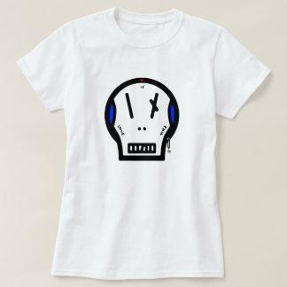 """T-shirt Le crâne indique : le """"amour est douleur """""""