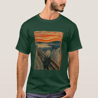 T-shirt Le cri perçant par Edvard Munch