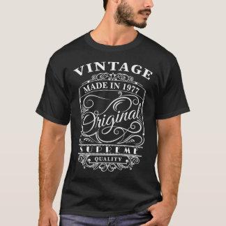 T-shirt Le cru a fait en 1977 l'original (l'année faite