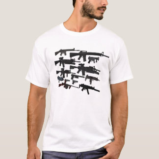 T-shirt Le cru d'artillerie d'arme à feu s'est fané la