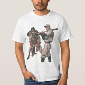 T-shirt Le cru folâtre des joueurs de baseball avec