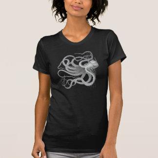 T-shirt Le cru nautique de poulpe de steampunk kraken le