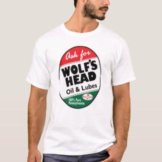 T-shirt Le cru Wolfs le signe principal