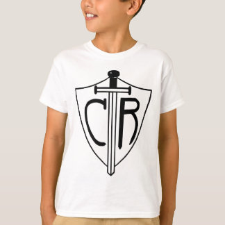 T-shirt Le CTR choisissent l'épée et le bouclier droits