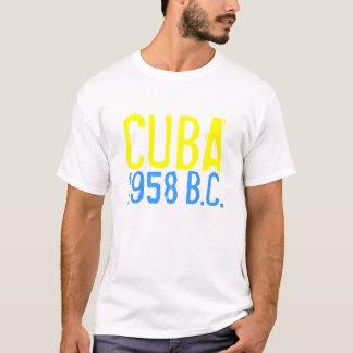 T-shirt le CUBA 1958, (avant castro)