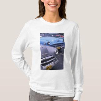 T-shirt Le Cuba, La Havane. Automobiles classiques des