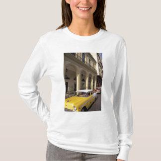 T-shirt Le Cuba, La Havane. Chevy coloré des années 1950