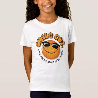 T-Shirt le cuz de sourire,… des disques sont sur le point