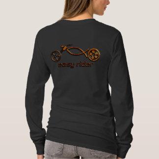 T-shirt Le cycliste chrétien de la femme