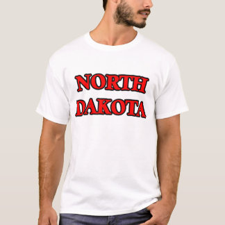 T-shirt Le Dakota du Nord